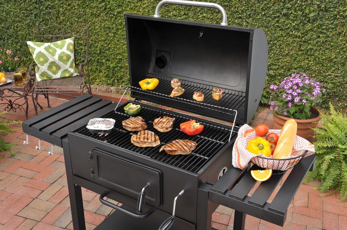 Barbecue En Pierre De Parement poêle à barbecue (48 photos): complexe extérieur avec
