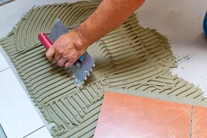 Adesivo per piastrelle knauf fliesen proprietà e uso dell adesivo