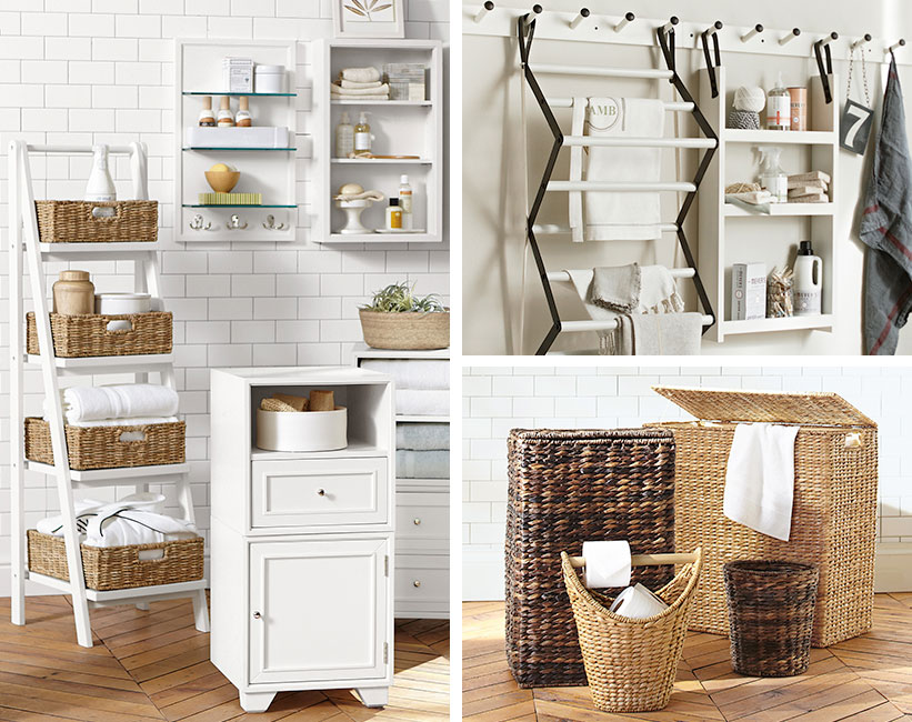 Regal für Handtücher im Badezimmer (38 Fotos): ein Holzregal ...
