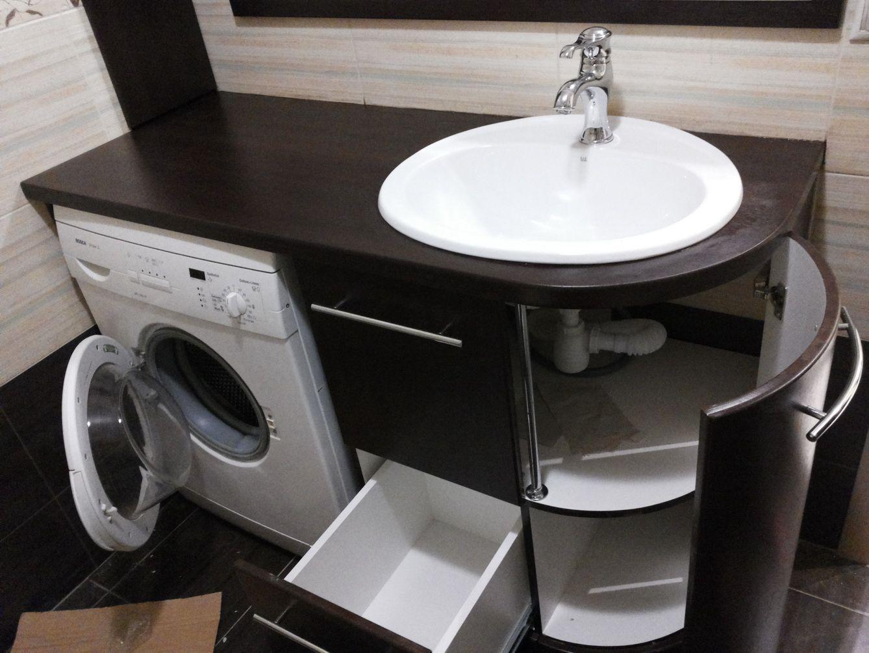 Como Instalar Lavabo Bano.Instalacion En El Lavabo Del Bano Con Un Gabinete Como