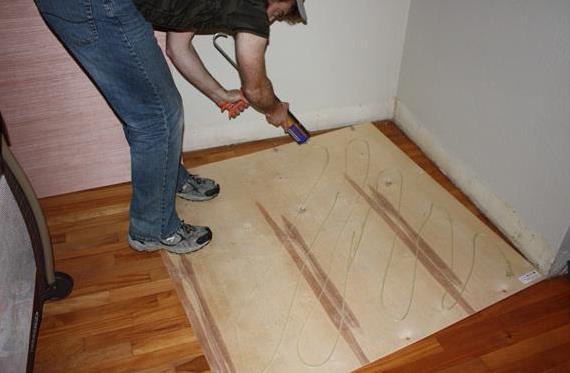 Liquid Nails Moment Installation, Liquid Nails Laminate Flooring