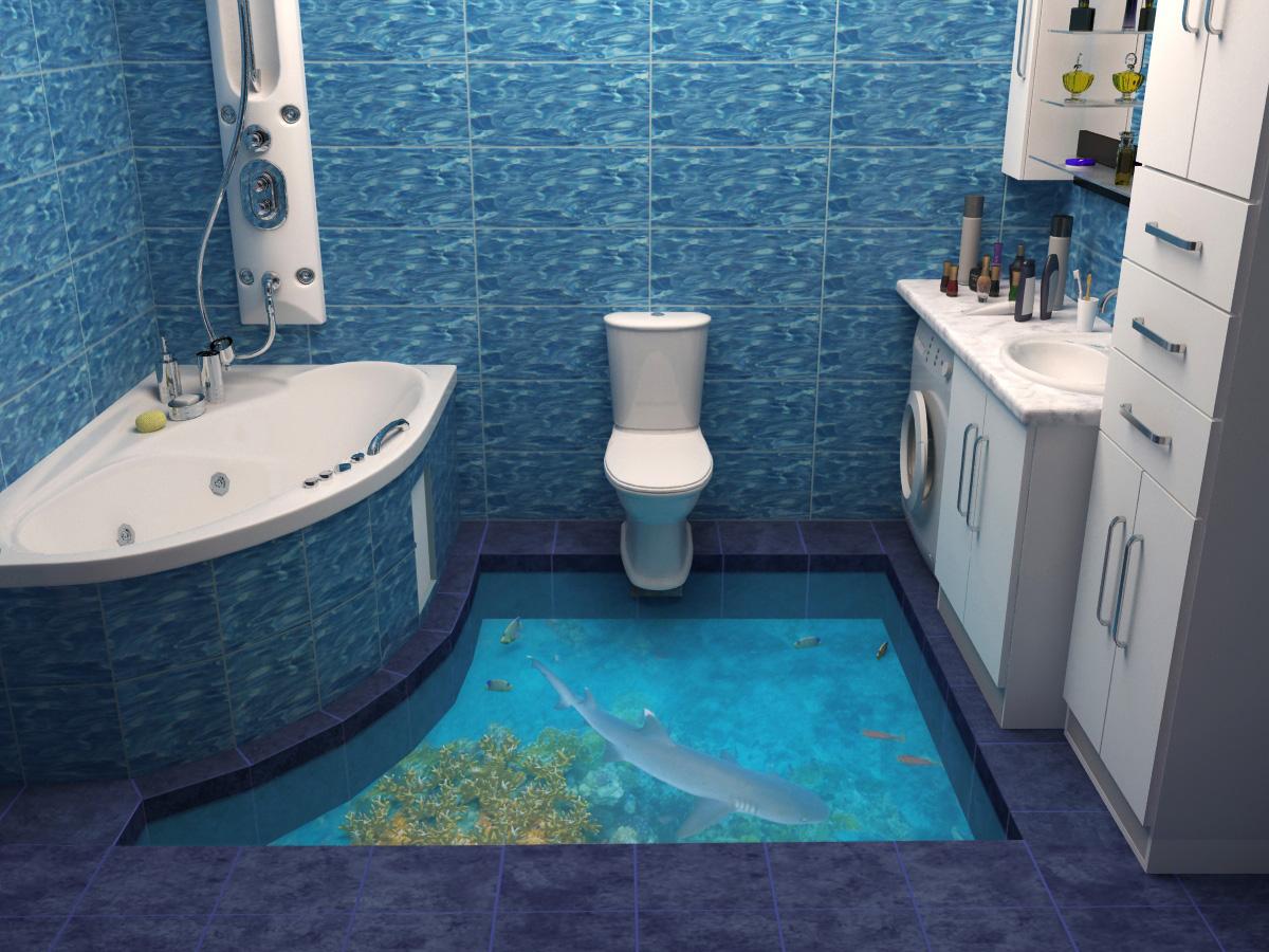 3d Badezimmerboden 55 Fotos Gestaltungsmoglichkeiten Im Bad Schone Beispiele