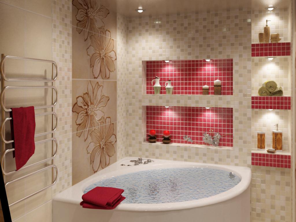 Azulejos beige para el baño (39 fotos): azulejos mate en ...