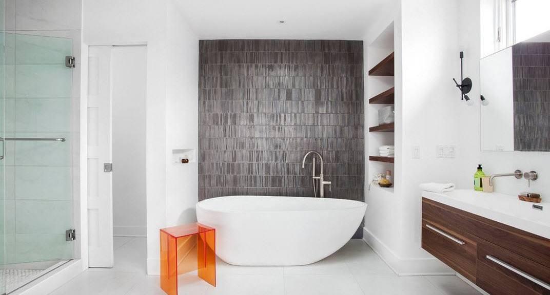 Großes Badezimmer (75 Fotos): schöne Raumgestaltung mit ...