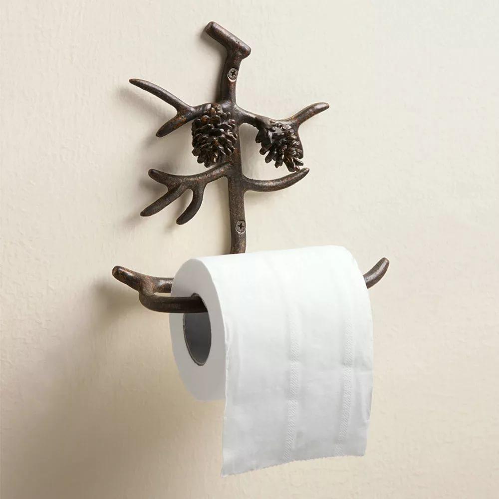 Porta Carta Igienica Originali portarotolo (56 foto): opzioni da parete per accessori bagno