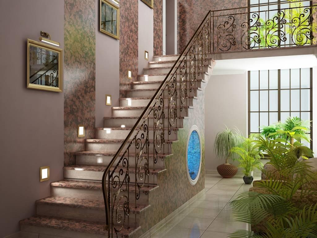 Come Dipingere Le Pareti Di Una Scala Interna la rampa di scale (57 foto): che cos'è, il design delle