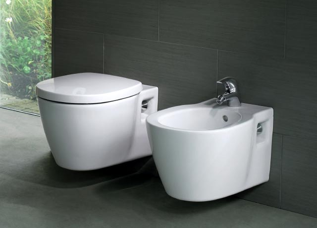 Toilets Ideal Standard: floor model Connect, Tesi and Tempo ...