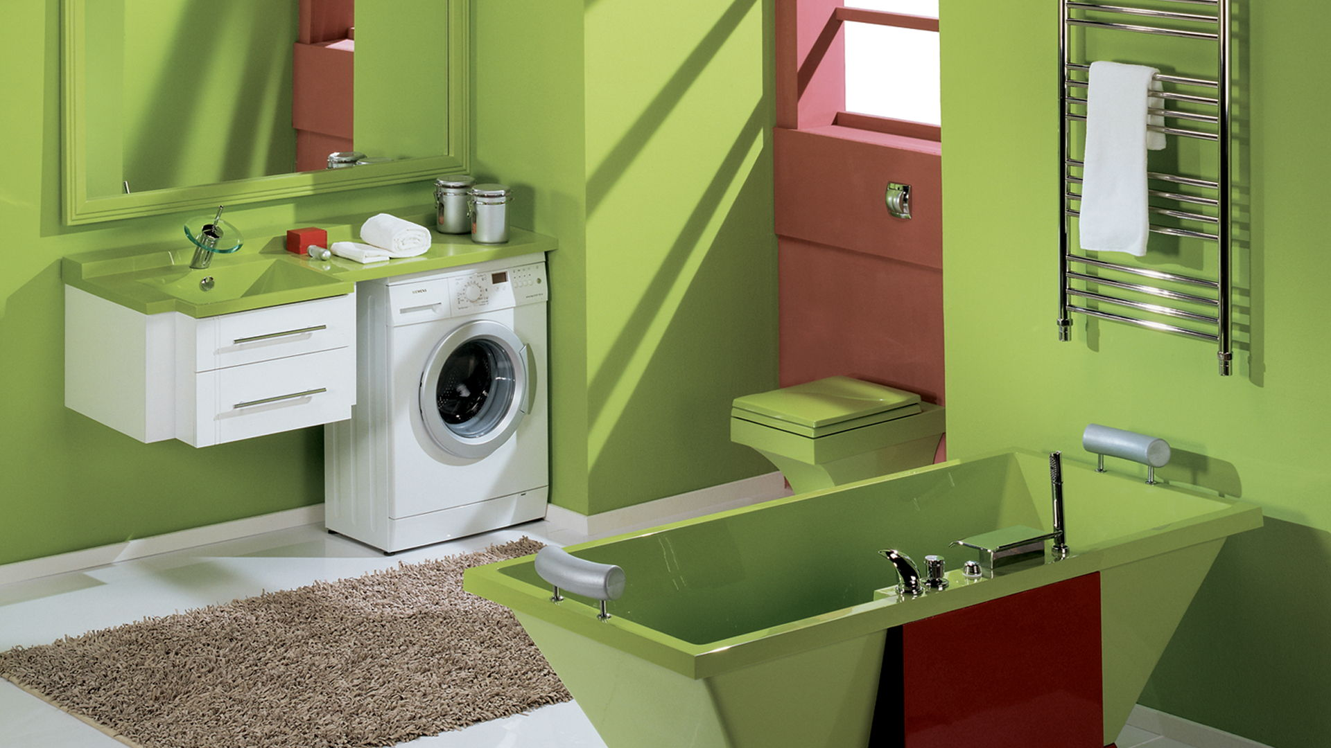 Waschmaschine Unter Dem Waschbecken Komplett Mit Spule 51 Fotos Sets Mit Einer Waschmaschine Im Badezimmer Kleine Modelle