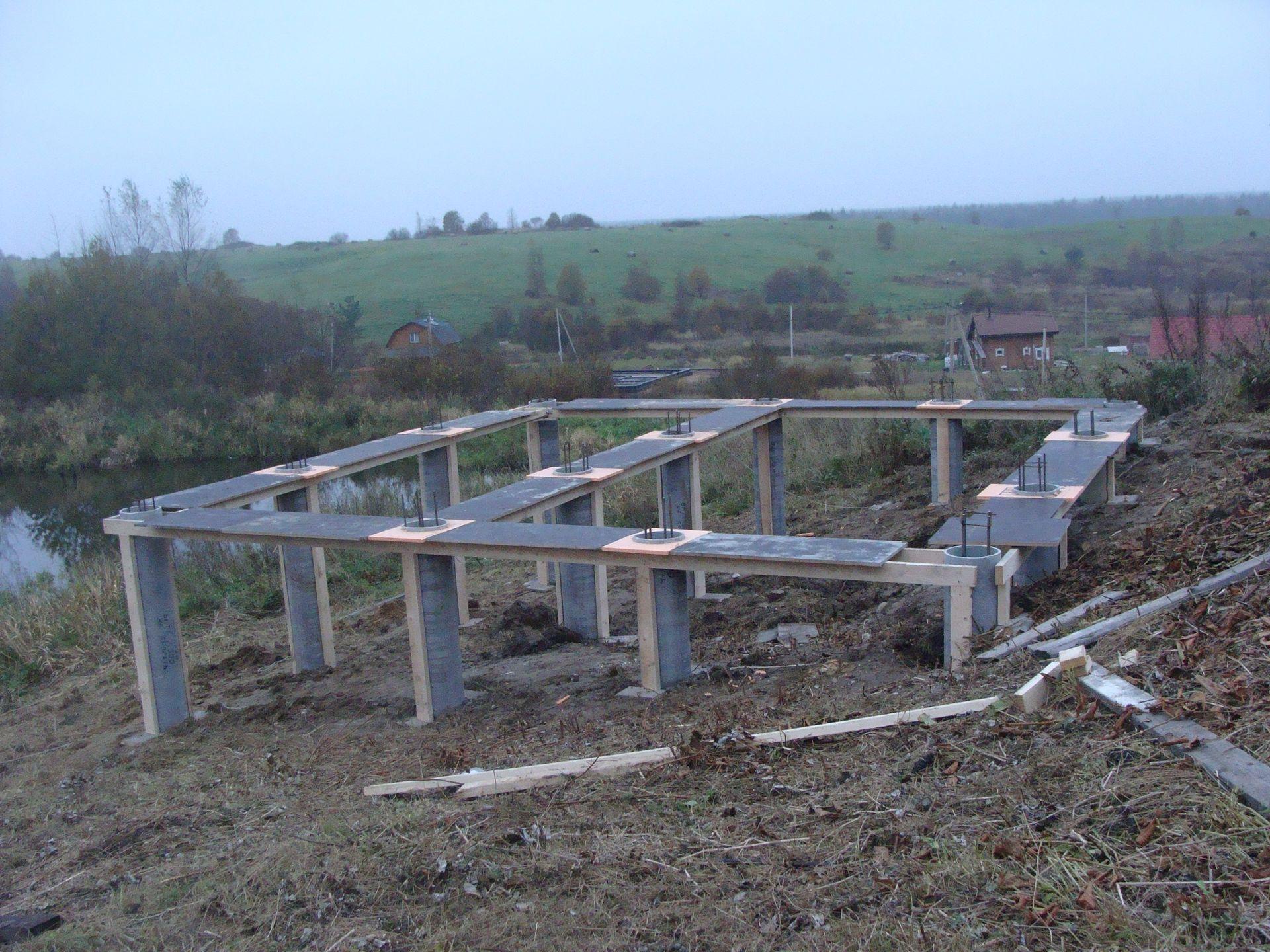 Construction Maison En Pente les fondations sur la pente (28 photos): projets de maisons