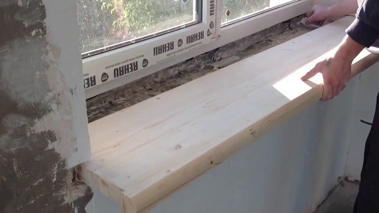 Davanzale Interno Della Finestra davanzali in legno (44 foto): opzioni per il legno all