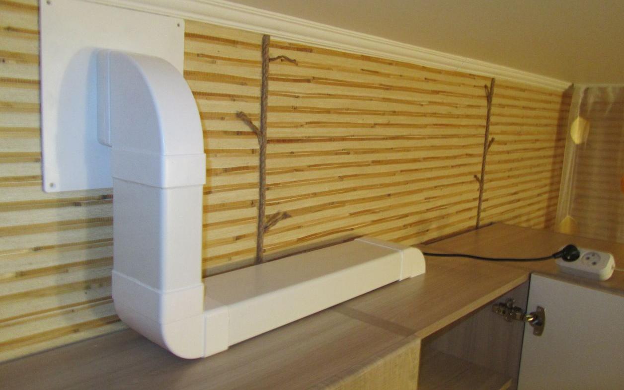 Tubo Per Cappa Cucina Design tubi di ventilazione in plastica per lo scarico (42 foto