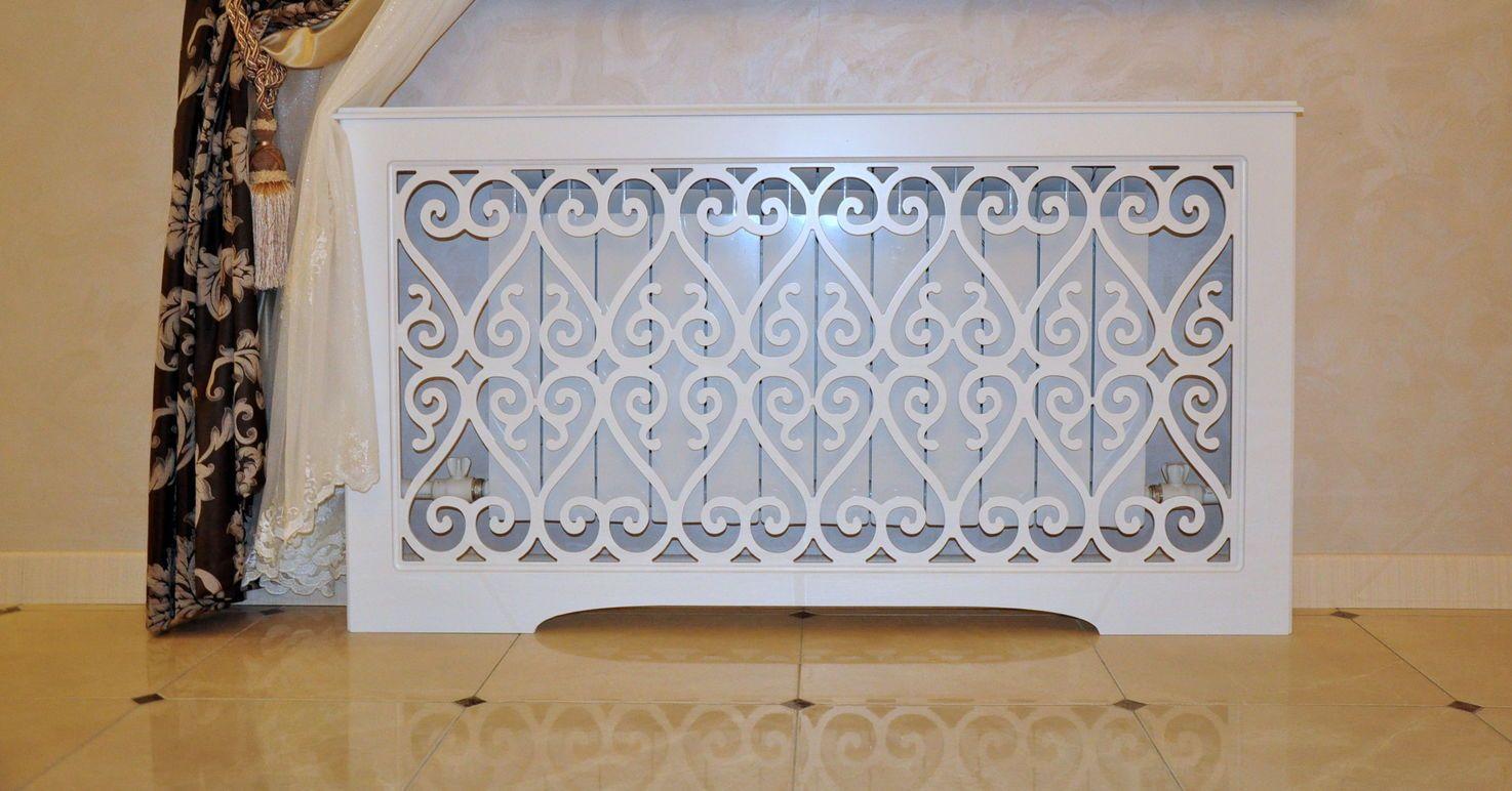 Costo Termosifoni In Ghisa griglie del radiatore (78 foto): schermi decorativi per
