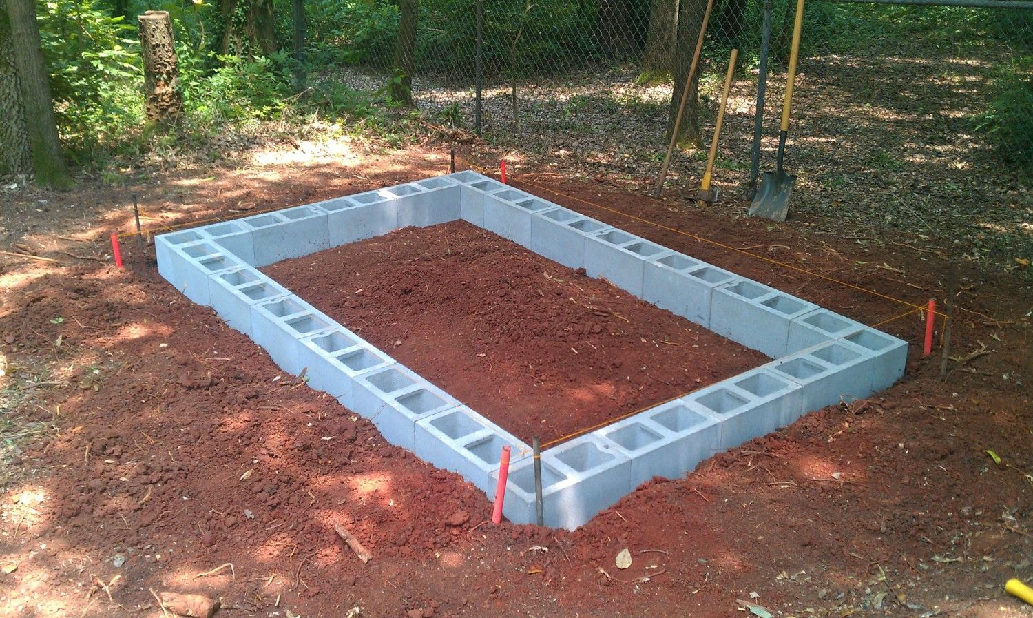 The Foundation For The Barn Step By Step Instructions On How To Make A Foundation With Your Hands Out Of Foam Blocks An Easy Version Of The Blocks