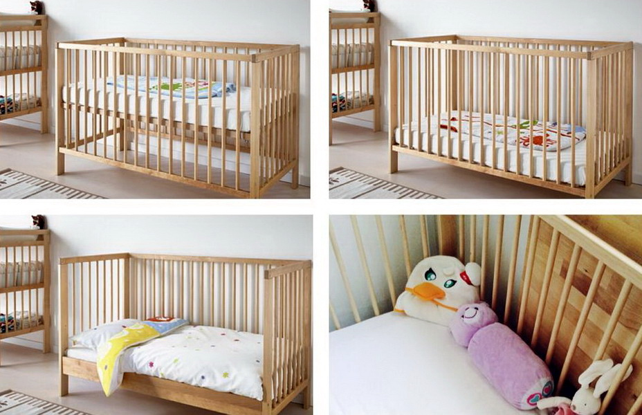Letti Bassi Per Bambini Ikea.Culle Per Neonati Ikea 31 Foto Letto Per Bambini Gulliver Con