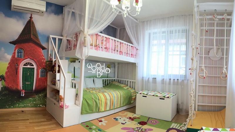 Katil Tidur Untuk Remaja 43 Foto Model Dua Tingkat Untuk Lelaki Dan Perempuan Dengan Sofa Pilihan Logam Dan Sudut