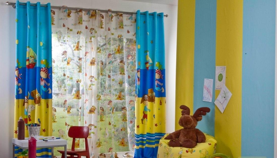 Vorhänge im Kinderzimmer für den Jungen (51 Fotos): schöne ...