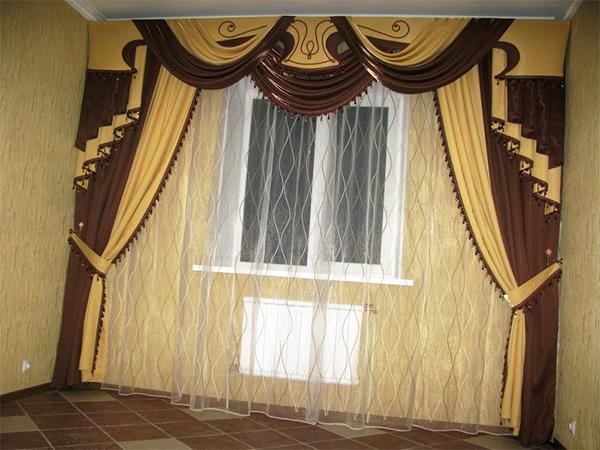 Langsir Coklat 58 Foto Langsir Di Pedalaman Dapur Dan Ruang Tamu Digabungkan Dengan Turquoise Dan Beige