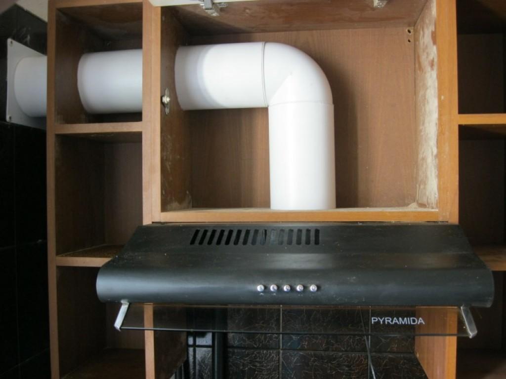 Mutfak için havalandırma deliği olan davlumbazlar (48 fotoğraf): Hava  çıkışlı mutfak yapısının montajı, havalandırma kanalındaki hava kanalının  montajı