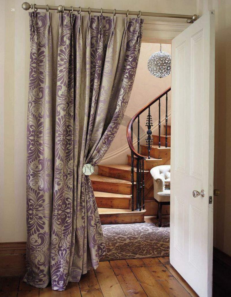 Modi Di Mettere Tende tende sulla porta (55 foto): tende in silicone per porte
