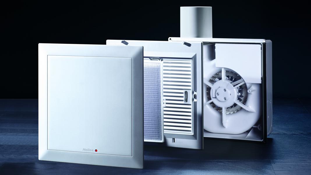 Stille Ventilator Krachtige Huishoudelijke Apparaten Voor Uitlaat Naar De Badkamer Axiaal Model Met Terugslagklep