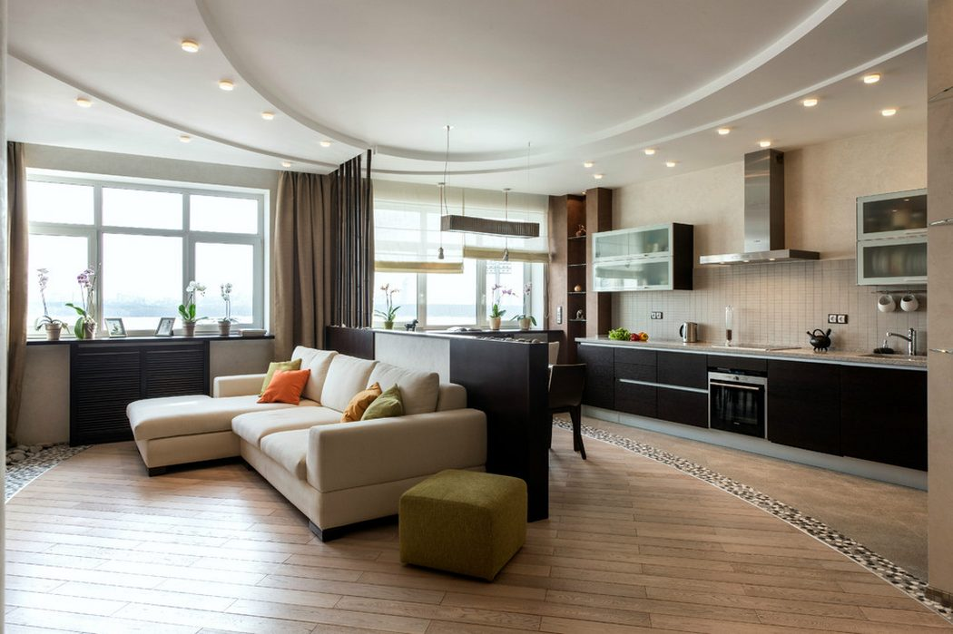 Design Kitchen Living Room Of 30 Square Meters M 50 Photos The Project Of Planning The Interior Of The Combined Rooms Of 30 Square Meters