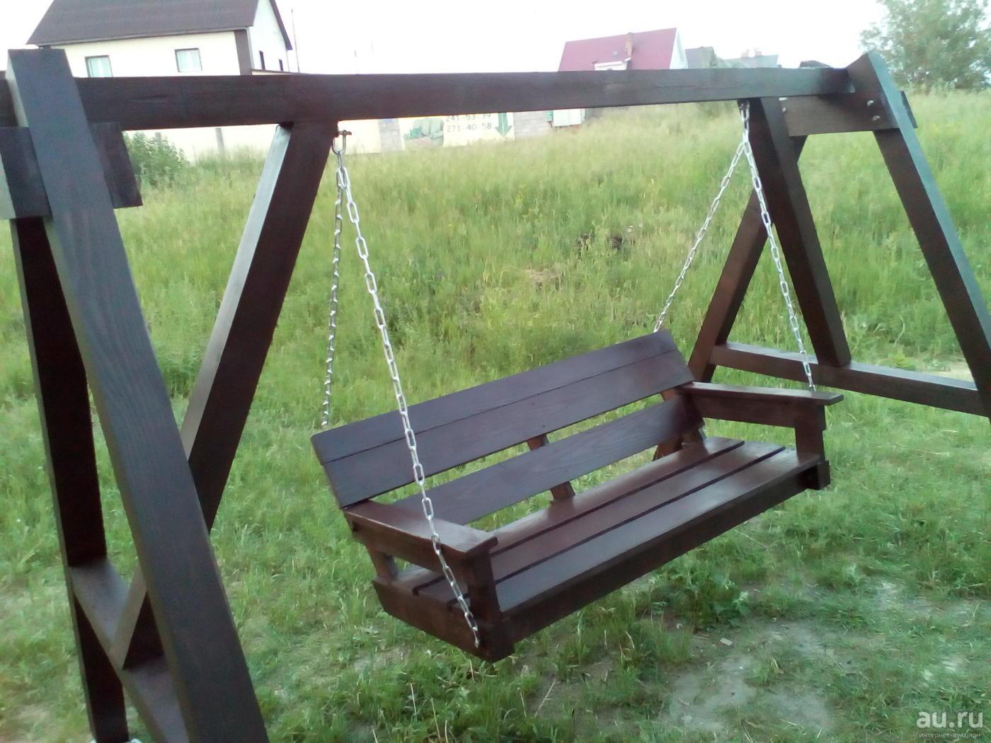 Comment Fixer Une Balançoire À Une Branche D Arbre balançoires en bois rond (34 photos): comment faire de ses
