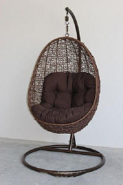 Hangstoel Van Touw.Opgeschorte Schommelstoel Kies Rieten Rotanmodellen Voor Baby S