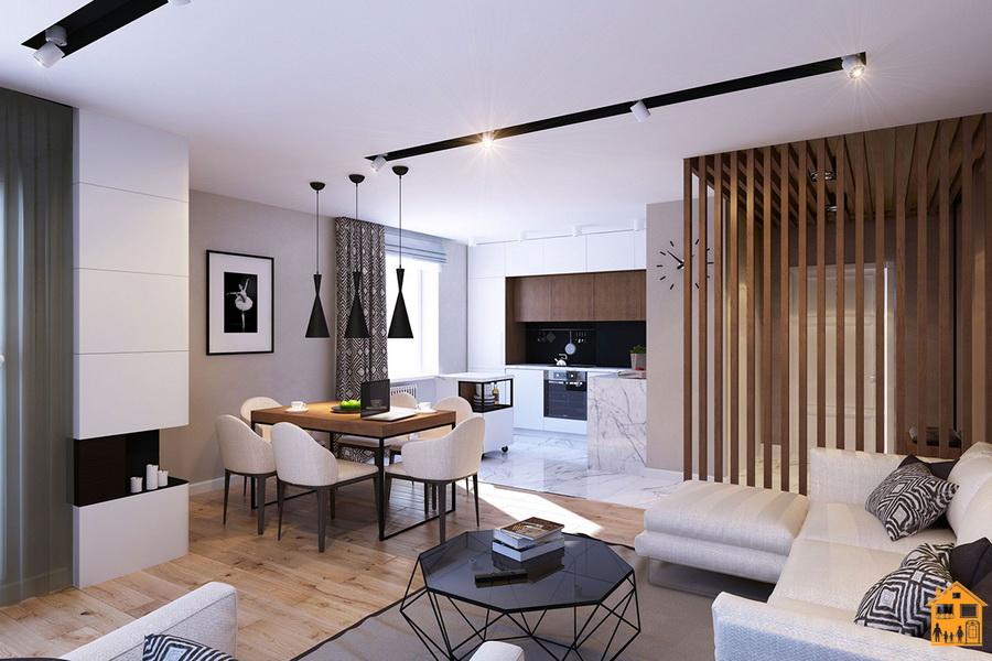 Compacte Woonkamer Inrichting : Kleine keuken woonkamer foto s ontwerp gecombineerd gebied