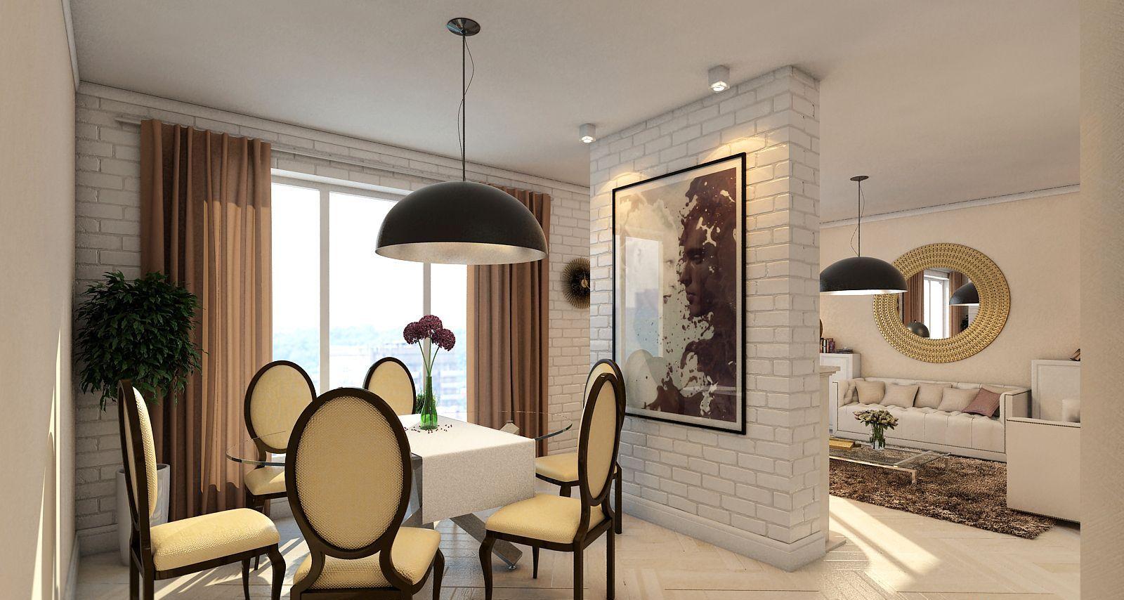 Separazione della cucina e del soggiorno (37 foto): quanto è ...