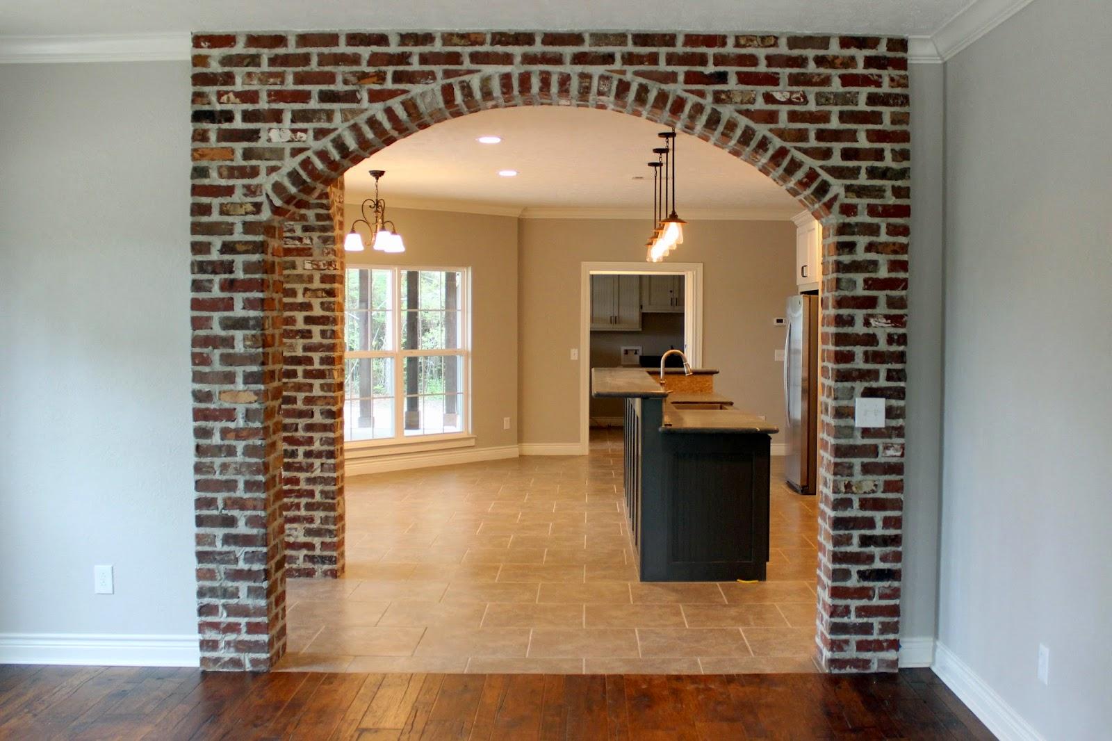 Linteau En Arc De Cercle arc de briques (23 photos): comment faire une arche de