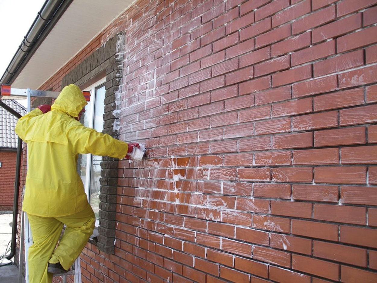 Nettoyage des briques: comment nettoyer les vieilles briques du mortier et du ciment après la ...