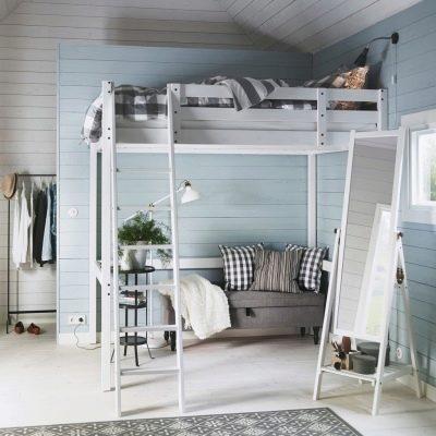 Lits Ikea 83 Photos Modeles Coulissants Et Pliants Avec Tiroirs Double Etage En Bois Et Un Demi Lit Pliant Cadres Blancs