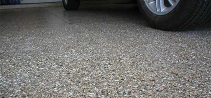 Calcestruzzo fine come asfalto
