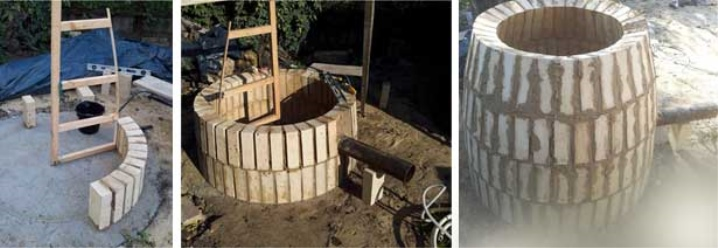 Processen att bygga en tandoor