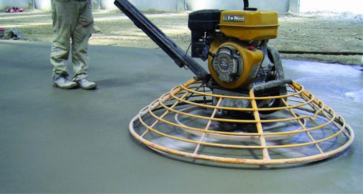 Желязният бетон по сухия метод