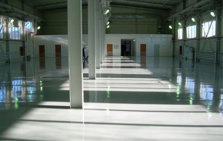 Мокър железен бетон