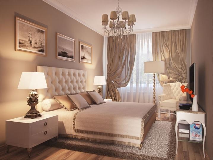 Diseño De Dormitorios De 14 Metros Cuadrados M 85 Fotos Proyecto De Diseño Del Interior De Una Sala Cuadrada Y Rectangular Cómo Amueblar Diseño E Ideas De Diseño