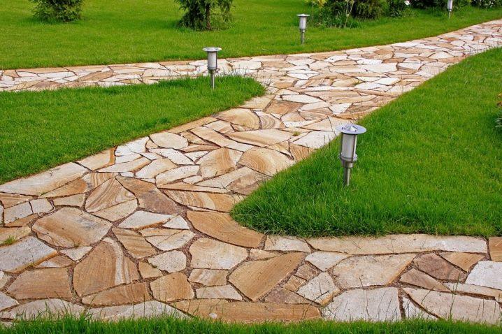 9bf17853a86 Направи си сам градински пътеки (85 снимки): как да направим евтини ...