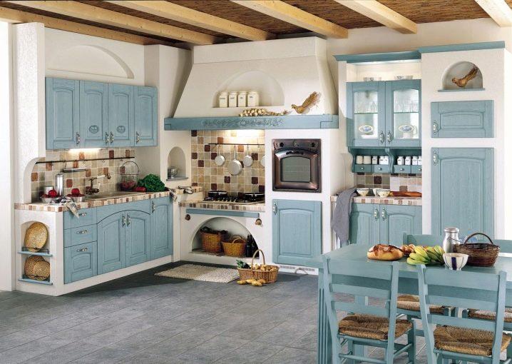 Stili popolari per il design della cucina-soggiorno ...
