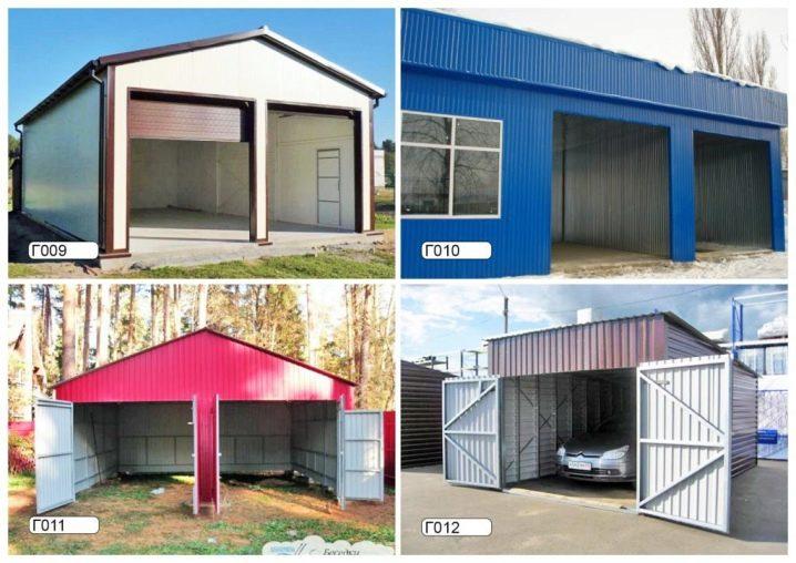 Garages Of Sandwich Panels 83 Photos, Modular Garage Panels
