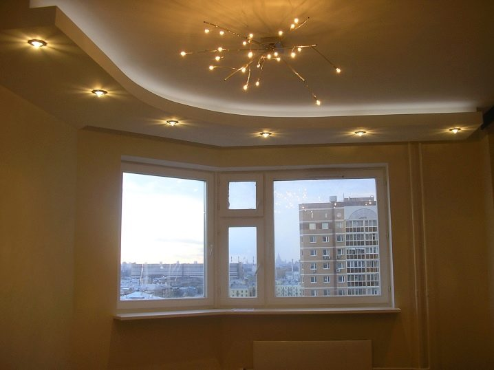 Baguette For Stretch Ceiling 71 Photos Aluminum Ceiling Profile With Led Lighting Types And Dimensions