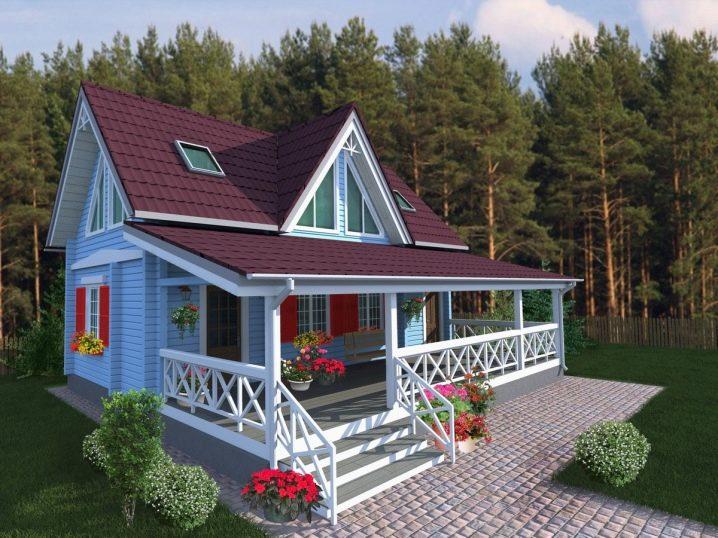 Casa Con Terrazza Progetti Di Ville A Un Piano Con Un