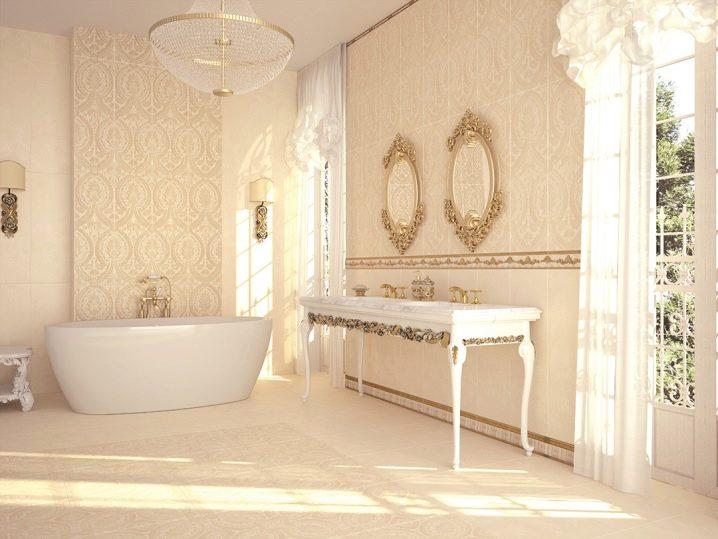 Beige Fliesen Fur Das Badezimmer 39 Fotos Matte Fliesen In Der