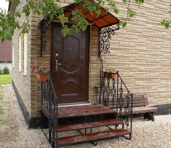 hermosos porches frontales de otoño Escaleras De Metal Al Aire Libre 84 Fotos Un Porche Hecho