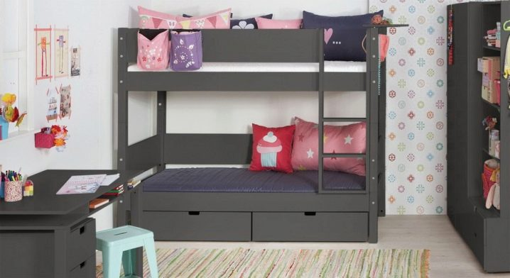 Children S Ikea Bunk Bed 27 Photos Two Story Construction With A Sofa And A Double Wooden Model Tuffing For Children Reviews